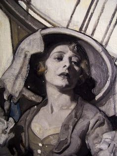 Dean Cornwell - detail. Melo-dramatic perfection.