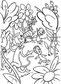 1000 images about sets seussical jr on pinterest dr for Seussical coloring pages