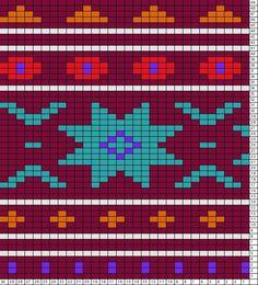 Tricksy Knitter Charts: ster rivier