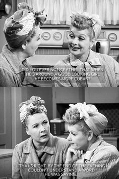 I Love Lucy. Great !!!