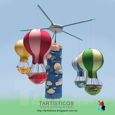 TARTÍSTICOS: Globos Aerostáticos Outdoor Decor, Blog, Home Decor, Hot Air Balloons, Sweets, Decoration Home, Room Decor, Blogging, Home Interior Design