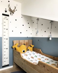 For kids (and grown ups ; Toddler Boy Room Decor, Boys Room Decor, Baby Boy Rooms, Toddler Bed, Kids Bedroom Designs, Baby Room Design, Denim Drift Bedroom, Girl Room, Room Inspiration
