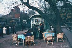 Ларек с газированными напитками в московском зоопарке  Фото: Мартин Манхоф / Дуглас Смит