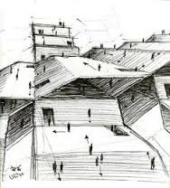 نتيجة بحث الصور عن Architectural marker sketch