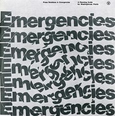 Press Relations in Emergencies — Peter Megert, 1972