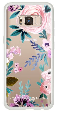 Casetify Galaxy Classic Snap Case - Moody-Victoria-Flower-Romance-Soft by Crystal Walen Galaxy S8 Phone Cases, Samsung Galaxy, New Phones, Samsung Cases, Tech Accessories, Casetify, Romance, Victoria, Note