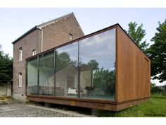 House (Extension) | Belgium | Van De Voorde - Piffet Architecten | photo © Koen van Damme