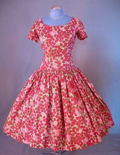1950 Full skirted dress by Posh