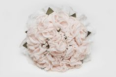 ramo de novia de peonías en tela- ramo de novia original - ramo de novia de tela - ramo de novia personalizado - bridal bouquet - fabric bouquet