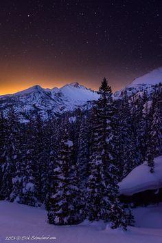 Longs Peak, Glacier Gorge, Rocky Mountain National Park, Colorado; photo by Erik Stensland