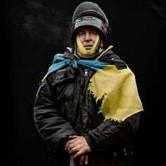Photographer Anastasia Taylor-Lind takes the pulse of the Ukrainian protest through portraits of people who found their way to the square known as Maidan in Kiev.