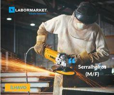 #labormarketofertasserralheiros Funções:  -Trabalhos em altura, Revestimentos, Coberturas, Montagem de estruturas metálicas Requisitos:  -Experiência na função candidaturas@labormarket.pt