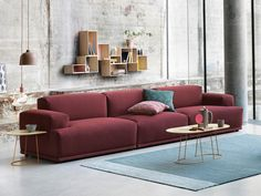 Muuto Connect Modular Sofa in Rime Fabric