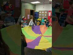 Nutcracker Russian Dance parachute routine. - YouTube
