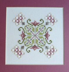 Olivia Hardanger Embroidery Chart