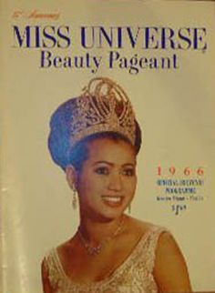 thecrowncompetitors: miss universe 1966