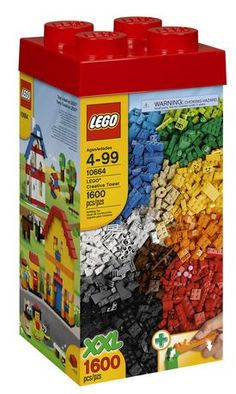 LEGO Bricks & More LEGO - LEGO® Creative Tower  (10664) for sale at Walmart Canada. Find Toys online at everyday low prices at Walmart.ca