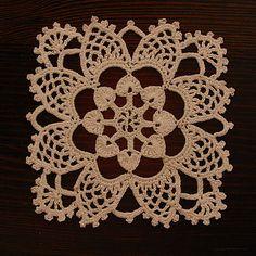 Ravelry: Stardust Bedspread Medallion #37 pattern by Lily Mills Company