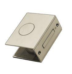 Manital FLAT S Designer Sliding Pocket Door Set Satin Nickel