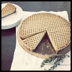Above Exclusive - Matthew Kenney's Pumpkin Pie with Thyme Recipe from Everyday Raw