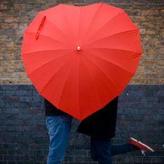 rainy day chic styles...engagement photo idea