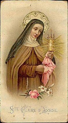 Sainte Claire d'Assise | Flickr: Intercambio de fotos