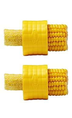Buy Chef'n Cob Corn Stripper online and save! With a simple twist of the Cob Corn Stripper by Chef'n you can strip kernels off of corn cobs, making your next summer salad or salsa fast and easy. Quirky Kitchen, Home Gadgets, Kitchen Tools And Gadgets, Gadgets And Gizmos, Kitchen Stuff, Kitchen Ideas, Amazon Gadgets, Clever Gadgets, Awesome Kitchen