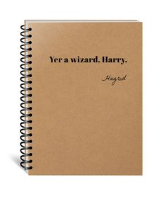 Harry Potter Notebook, Hogwarts, Hufflepuff, Gryffindor, Slytherin, Ravenclaw, Journal, Diary, Wizard Harry, Christmas, Birthday, Movie Gift