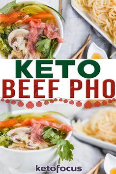 Low Carb Dinner Recipes, Lunch Recipes, Keto Dinner, Asian Recipes, Beef Recipes, Ethnic Recipes, Soup Recipes, Healthy Recipes