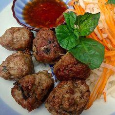 Thai pork balls