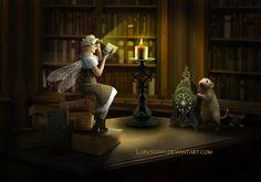 Book fairy by Lubov2001 on DeviantArt