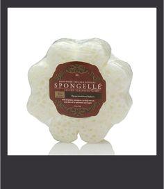 Spugna Spongelle dosata per 10+ lavaggi al profumo di Papaya e Legno di Sandalo
