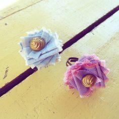 Ribbon Flower Tutorial & Fabric Flower Tutorial  Fancy by Soles, $6.00