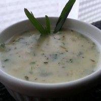 Saus met verse kruiden en ui : Recepten van Domy