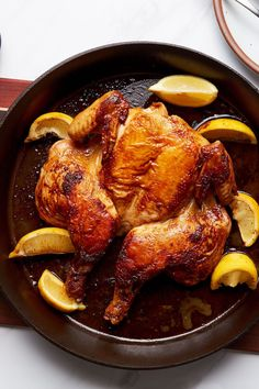 Chef and cookbook author Ned Baldwin has mastered a speedy roast chicken for his restaurant, Houseman. If you get all the elements exactly right, you can follow suit. (And if you don't, your chicken will be done in about 30 minutes, which isn't that far behind.)