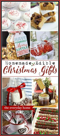 Easy Homemade Edible Christmas Gifts is part of Edible Christmas crafts - You don't have to spend a lot of money on Christmas gifts Plus, a homemade edible gift is much better These easy ideas will make you a Christmas Star! Christmas Treats For Gifts, Christmas Snacks, Xmas Food, Christmas Goodies, Christmas Star, Holiday Gifts, Easy Homemade Christmas Gifts, Christmas Presents, Christmas Ideas
