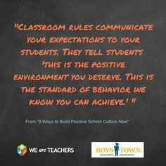 From 8 Ways to Build Positive School Culture Now
