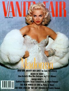 Madge, VF cover, 1991