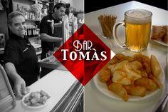 El Tomás lleva más de 90 años sirviendo #patatas bravas, #cerveza y #vermut. Tiene fama ser el #bar con las mejores #bravas de #Barcelona. Dónde esta? http://www.lovermut.com/articulos-lovermut/el-tomas-bravas-barcelona/