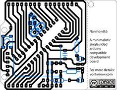 Nanino: The DIY PCB-etching Arduino — Arduino Passion
