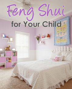 DIY Feng Shui for your child's room. Good energy flow is essential in childhood, because it can have such a positive effect on a child's first steps to a happy and successful life path. Girl Room, Girls Bedroom, Child's Room, Childrens Bedroom, Bedroom Art, Bedroom Colors, Room Set, Baby Room, Bedroom Ideas