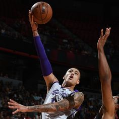 Forward  Kyle Kuzma  scored 30 points and grabbed 10 rebounds to lead the  Los Angeles Lakers  over the  Portland Trail Blazers  110-98 in the Las Vegas Summer League championship game Monday night...
