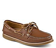 Gold Cup Authentic Original 2-Eye Boat Shoe, Tan