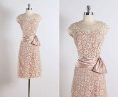 Peggy Hunt. vestido vintage de los años 1950. por millstreetvintage
