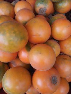 Lulo / Color & fruit Fruit, Vegetables, Color, Colour, Vegetable Recipes, Veggies, Colors