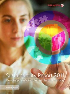 Screenshot, Fuji Xerox - Sustainability Report 2011