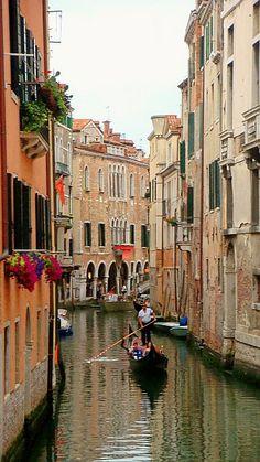 Roads of Venice, Italy
