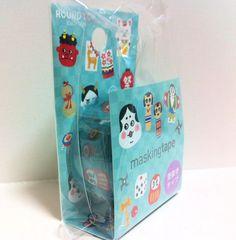 Kawaii Japan Deco Masking Tape: Round Top Series Japanese Items #washi #deco #masking #tape #japanese #kawaii