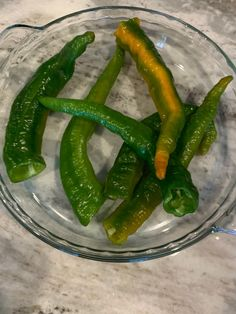 Long Hot Peppers Stuffed with Hot Italian Sausage | The Dainty Green Apron
