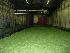 Indoor Batting Cages | Batting Cages | Pinterest
